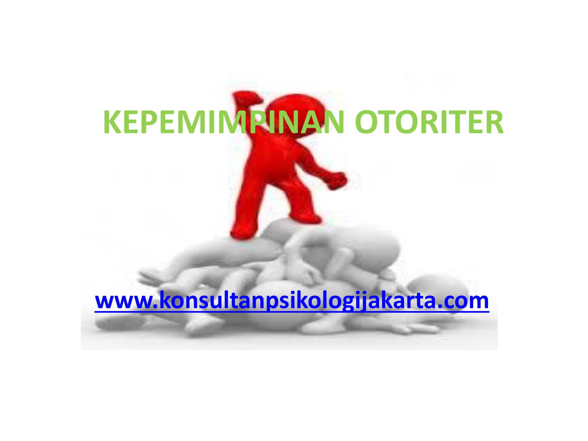 KEPEMIMPINAN OTORITER