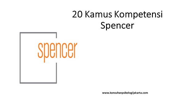 20 Kamus Kompetensi Spencer