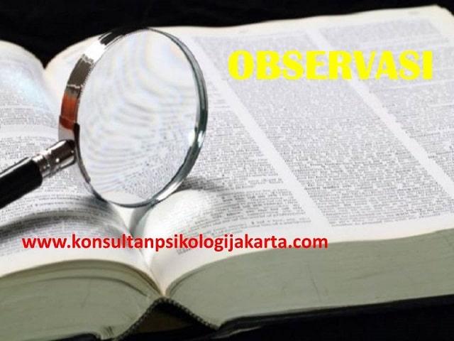 pengertian observasi menurut ahli