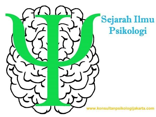 Sejarah Ilmu Psikologi