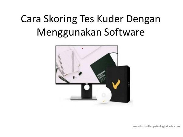 Cara Skoring Tes Kuder Dengan Menggunakan Software
