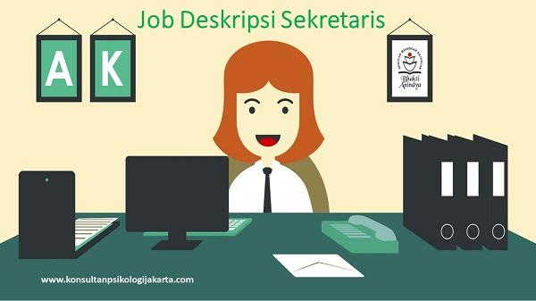 Job Deskripsi Sekretaris