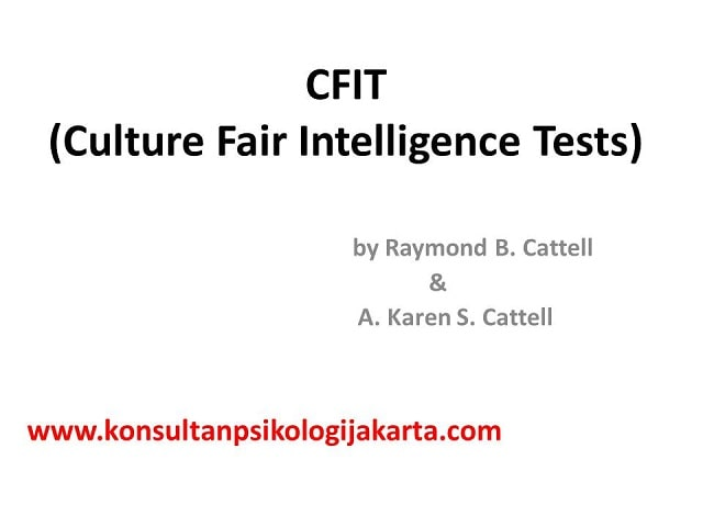 CFIT TEST
