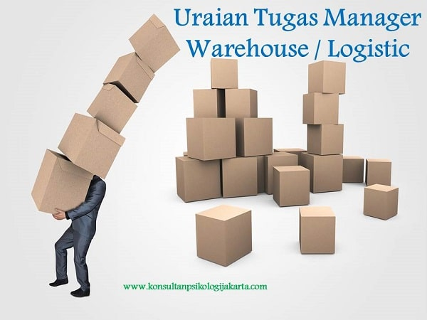 Uraian Tugas Manager Warehouse